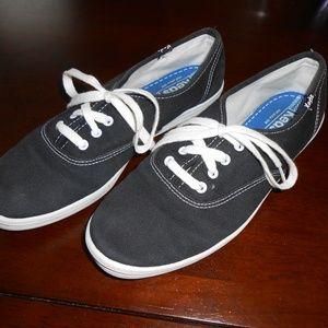 EUC Keds Champion Originals Black Canvas Sneaker 8
